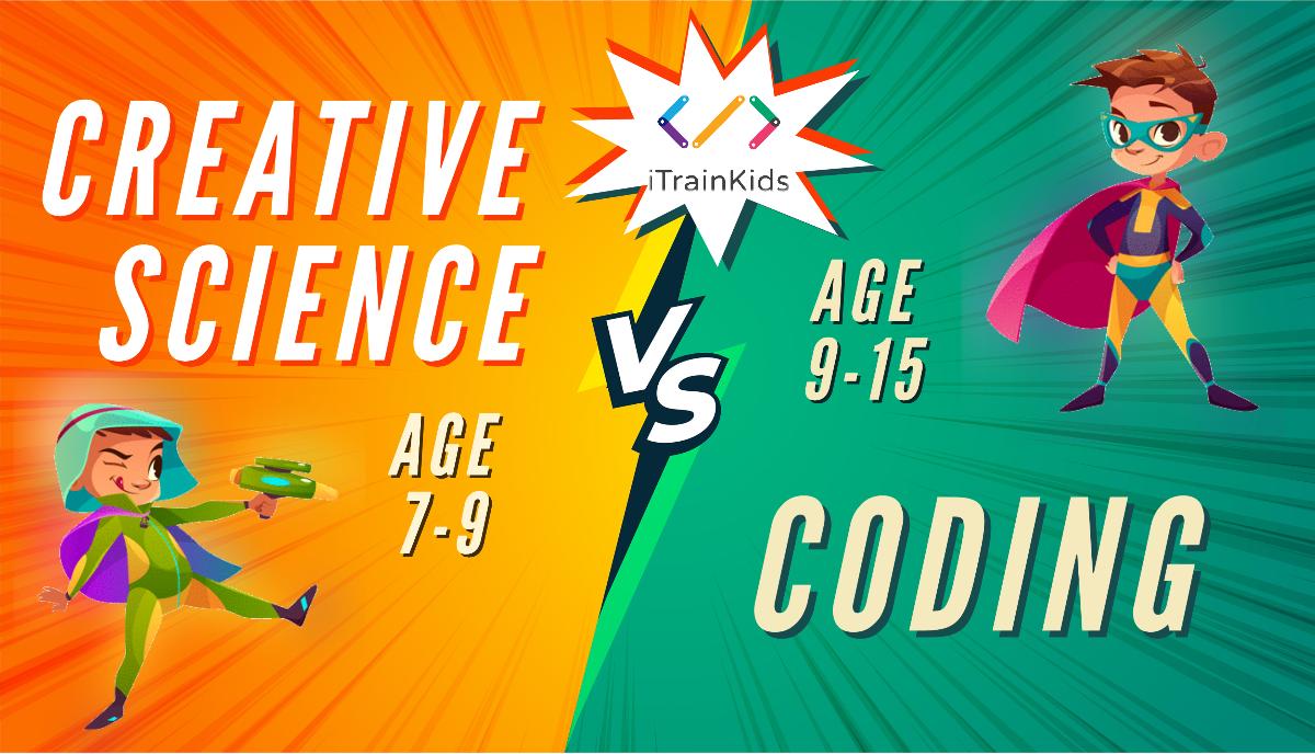 Lớp học code và khoa học sáng tạo