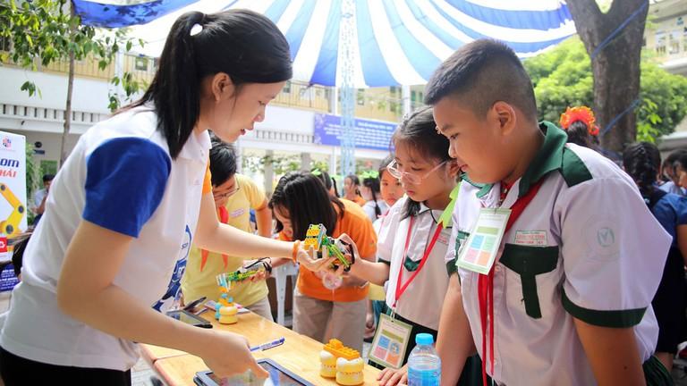 giáo dục STEM cho học sinh tiểu học