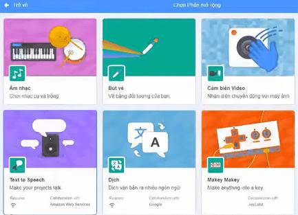 Lập trình Scratch 3.0 thêm tính năng mới