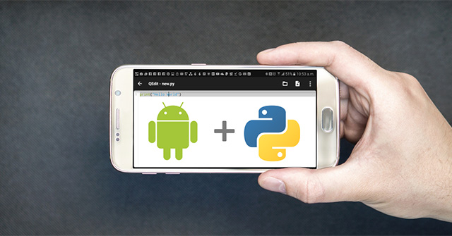 Lập trình ứng dụng điện thoại bằng Python