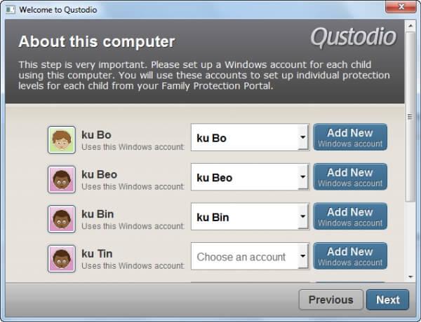 Phần mềm quản lý trẻ em sử dụng máy tính 2