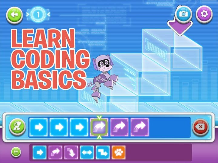 Ứng dụng học lập trình online cho trẻ - Learn coding basics