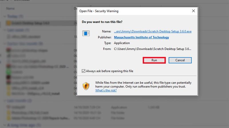 Hướng dẫn cài đặt lập trình Scratch trên máy tính
