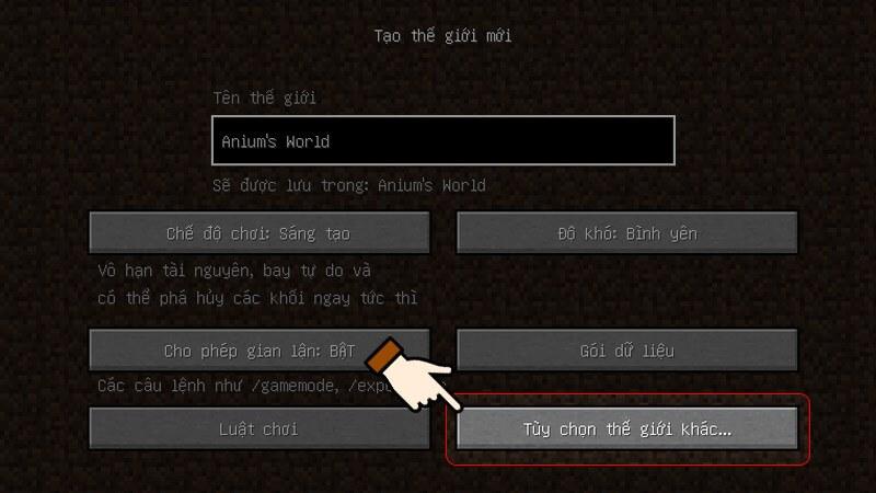 Hướng dẫn lập trình Minecraft bước 4